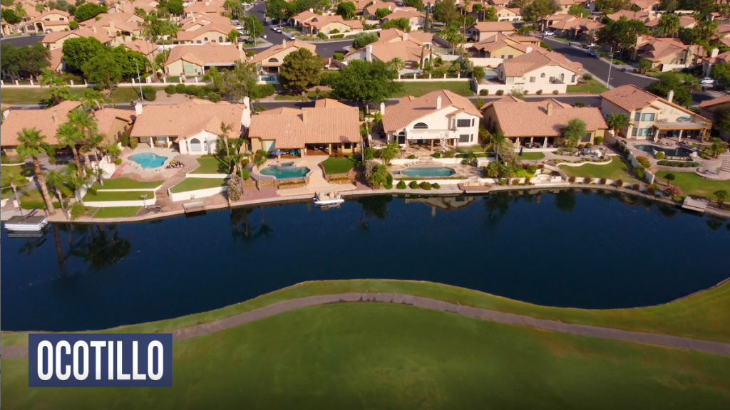 homes for sale in chandler at ocotillo golf course